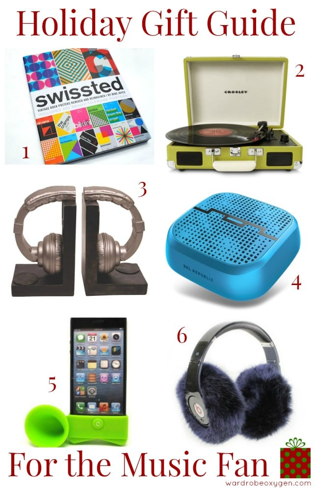 gift guide music lover fan