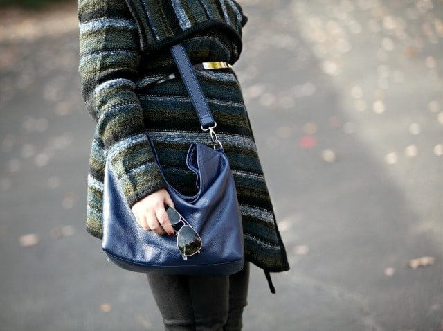 wardrobe oxygen what I wore leather bag HYHABIT review