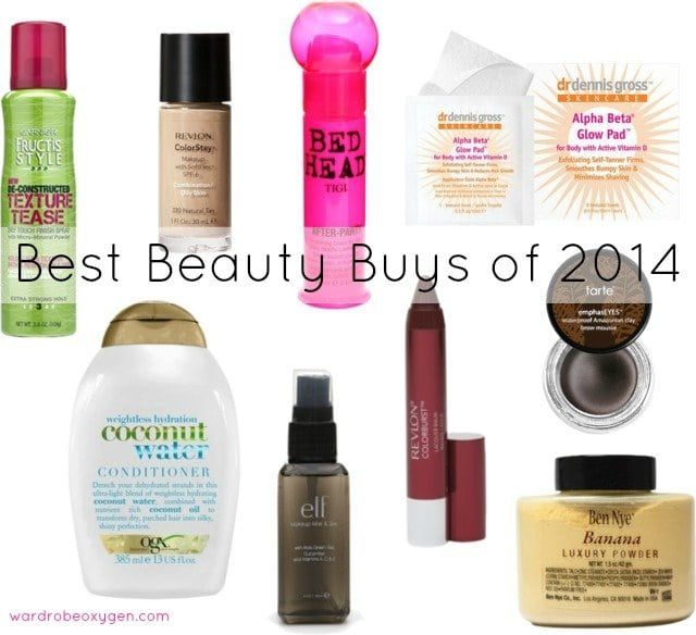 best beauty buys 2014