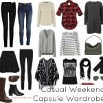 Capsule Wardrobe for the Weekend Warrior