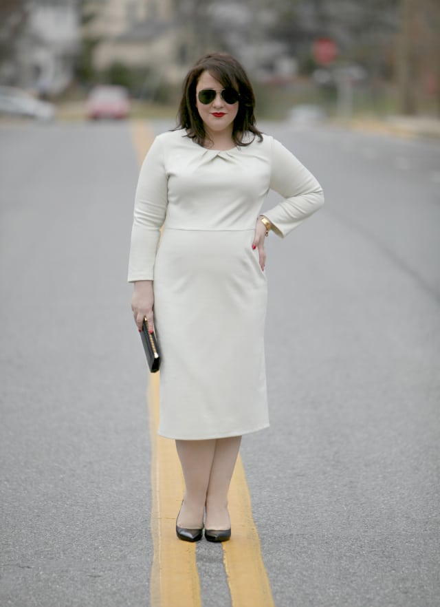 Wardrobe Oxygen What I Wore: Emploi New York Lexington Long Dress