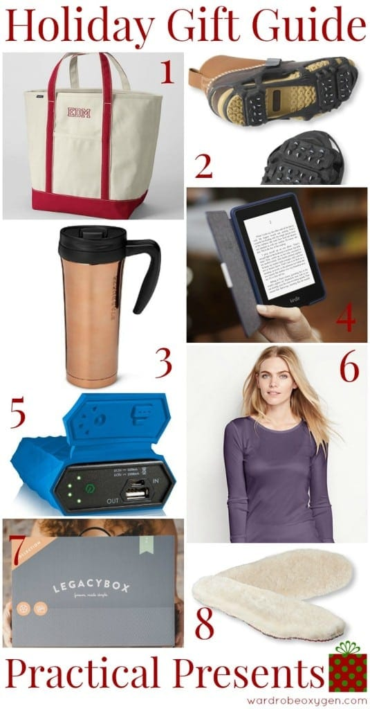 gift guide practical presents holiday