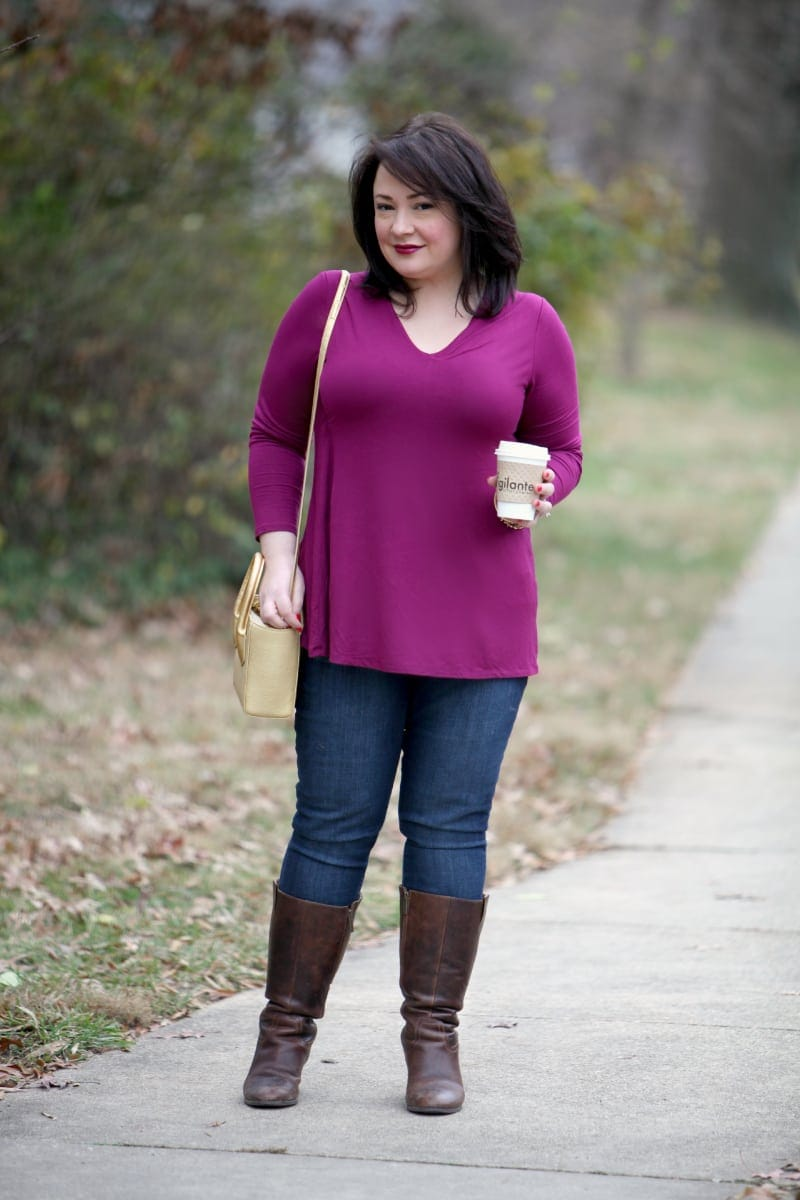 Wardrobe Oxygen What I Wore: Lysse Damaris Top and Dagne Dover Tiny Tote