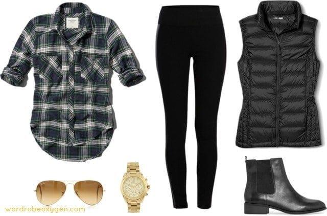 weekend style leggings chelsea boots