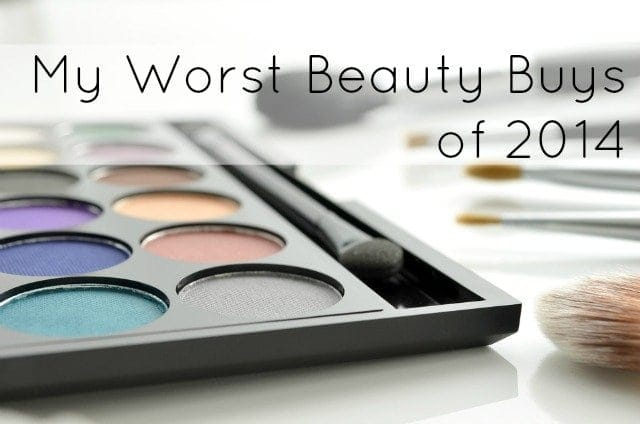 worst beauty buys of 2014