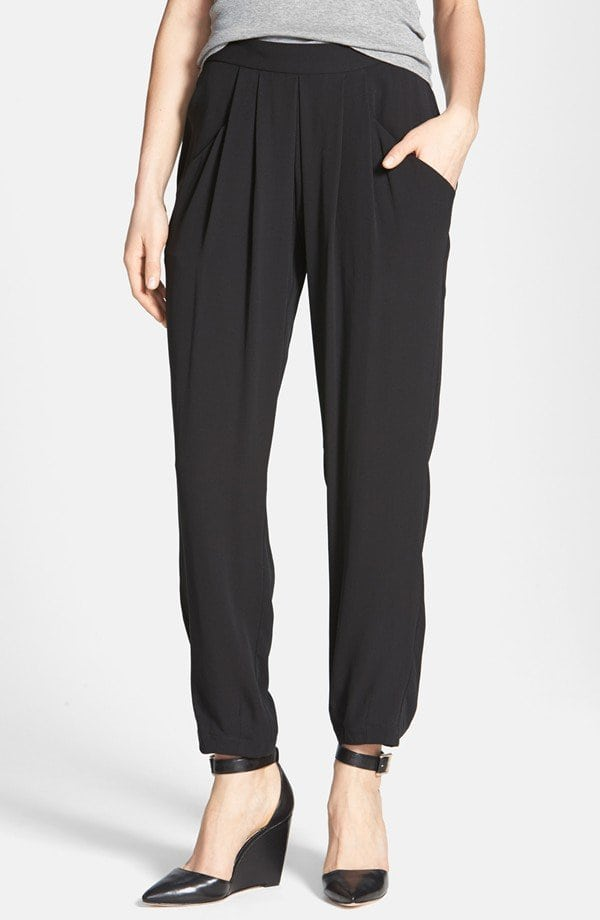 Eileen Fisher Silk Ankle Pants Review