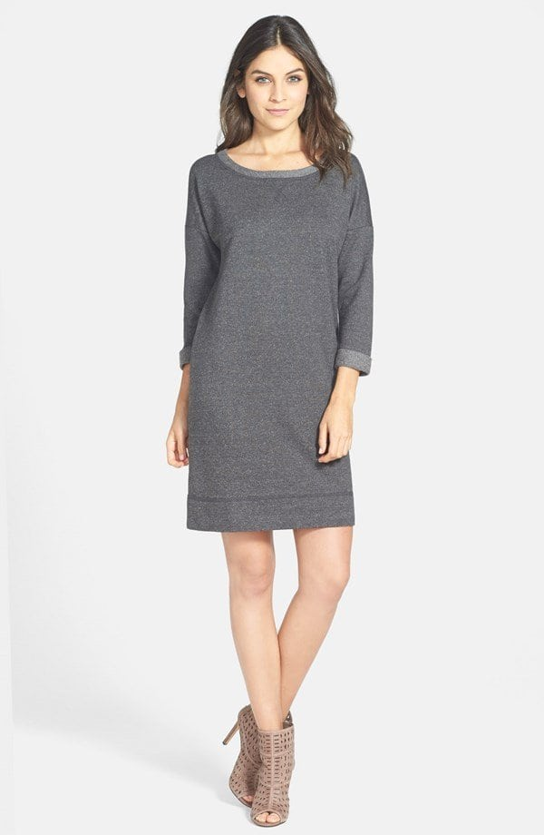 Caslon Sweatshirt Dress review