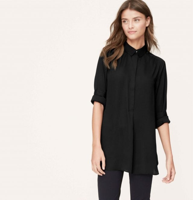 LOFT Tunic Blouse Review