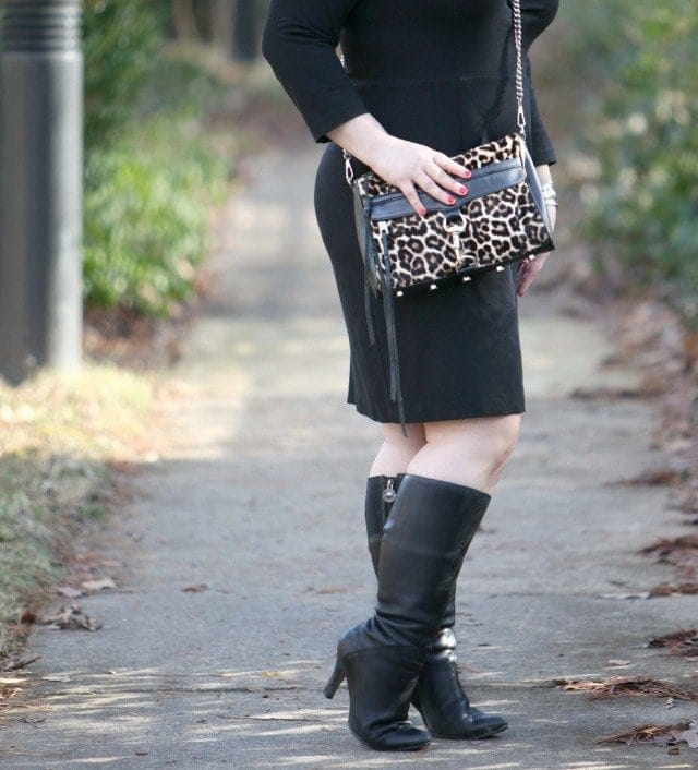 wardrobe oxygen wide calf boot fashion blog