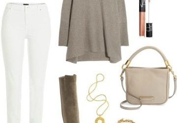 Ask Allie: Wearing White Jeans in Winter