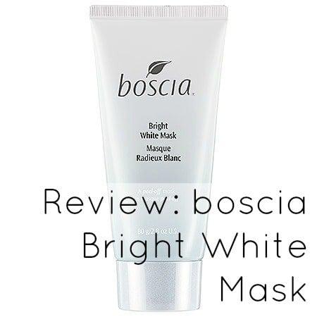 boscia bright white mask review