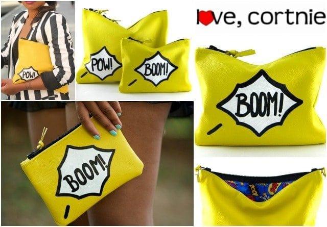 love cortnie mini comic clutch