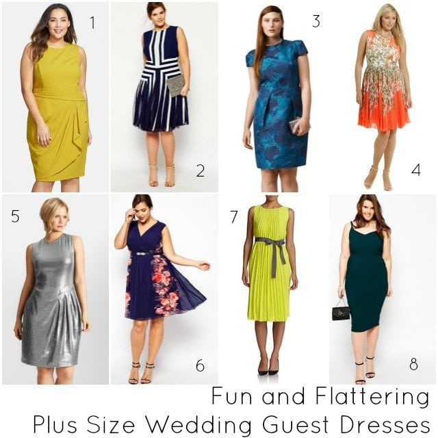 Plus Size Wedding Guest Dresses