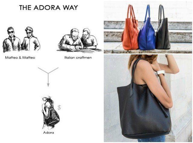 the adora bags way