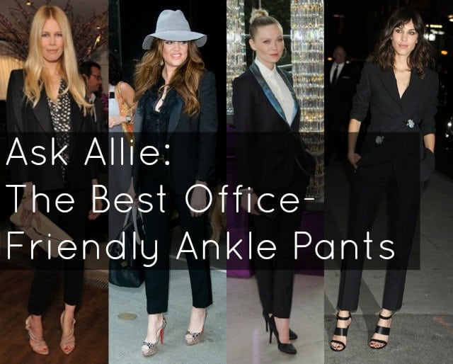 the best ankle pants for the office