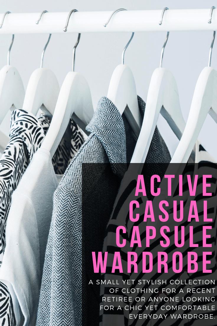 capsule wardrobe active casual