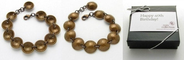 penny bracelet coin collection
