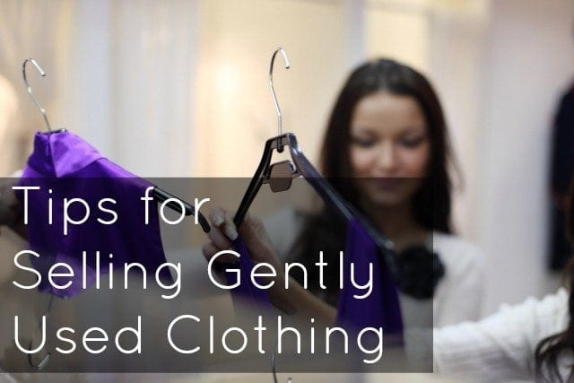 selling used clothing online tips how to