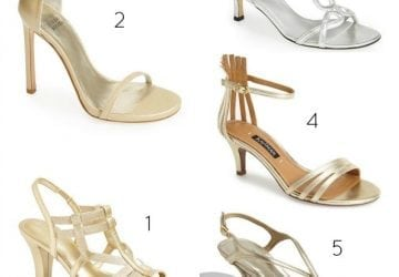 Ask Allie: Wide Width Metallic Shoes