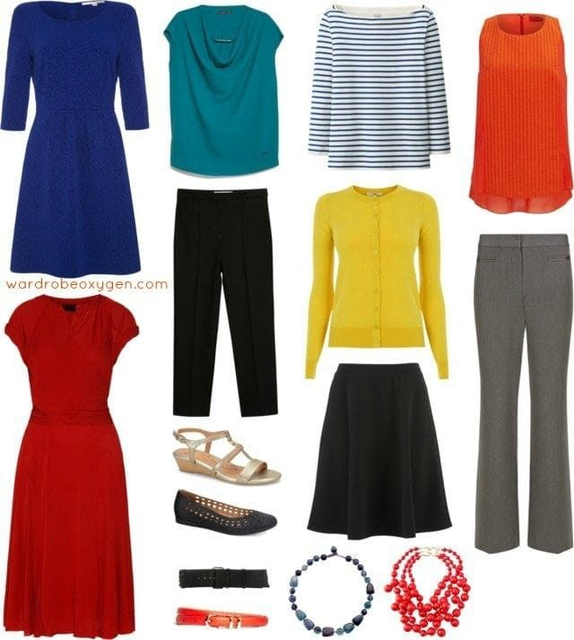 capsule wardrobe business casual machine washable