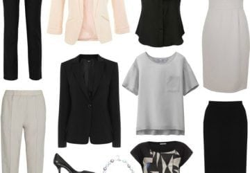 Ask Allie: Starch-Free Corporate Capsule Wardrobe