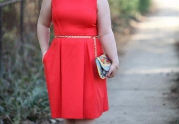 What I Wore: Crisp Coral