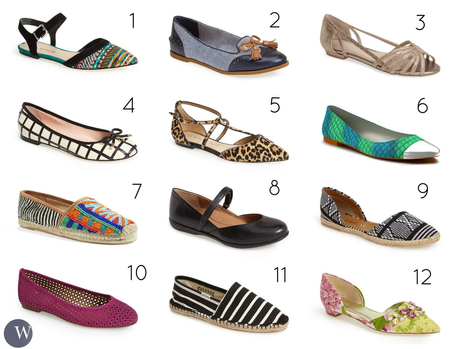 The Best Summer Flat Shoes For 2015 - Wardrobe Oxygen