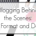 Blogging Behind the Scenes: Why Do Bloggers Do That to their Site?