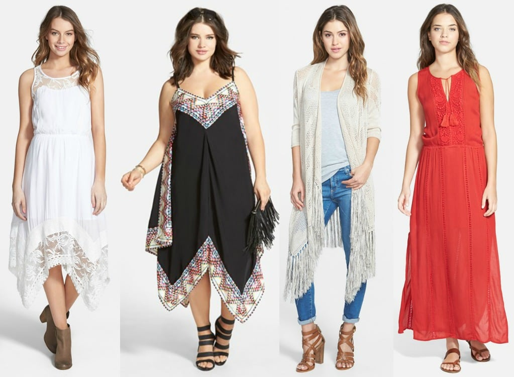 boho style with a bust