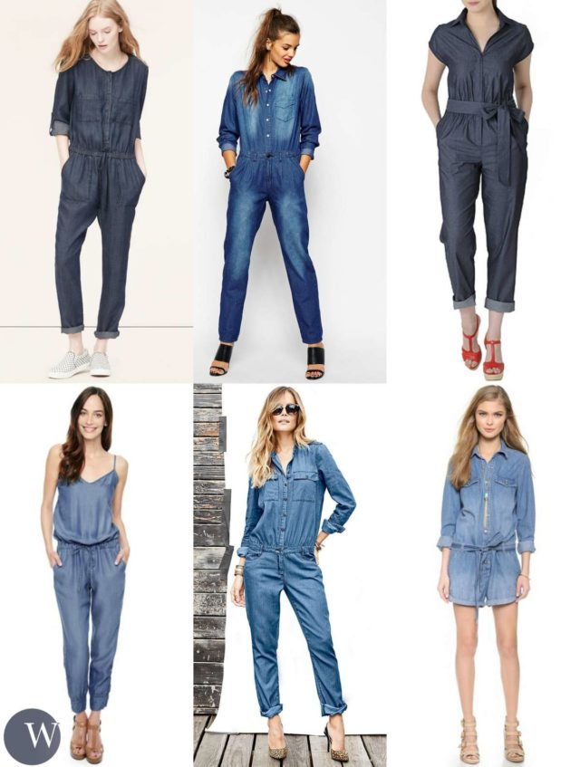 denim jumpsuit trends for spring