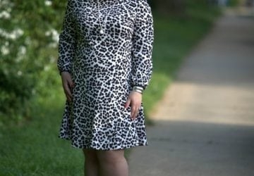 What I Wore: Snow Leopard in Spring