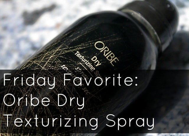 oribe dry texturizing spray review