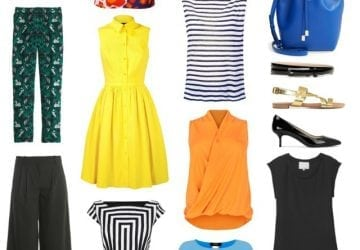 Summer Capsule Work Wardrobe – Business Casual with Color