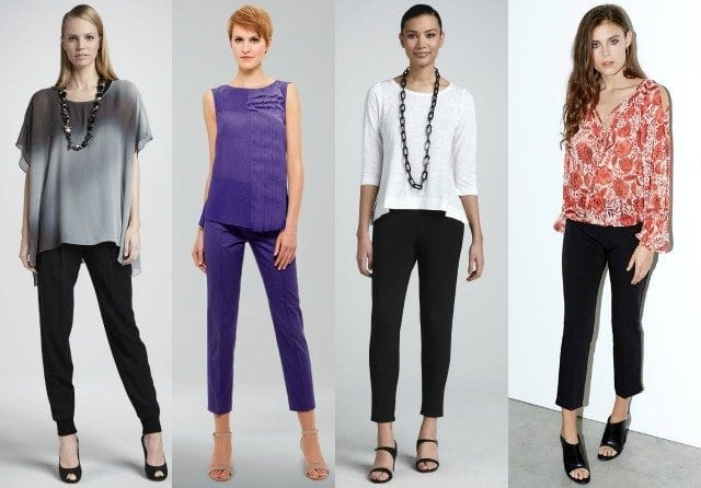office fashion cropped pants