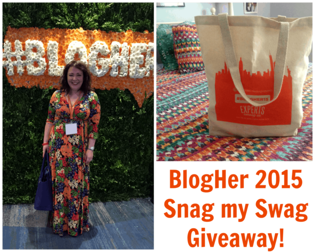 blogher2015 swag giveaway wardrobe oxygen