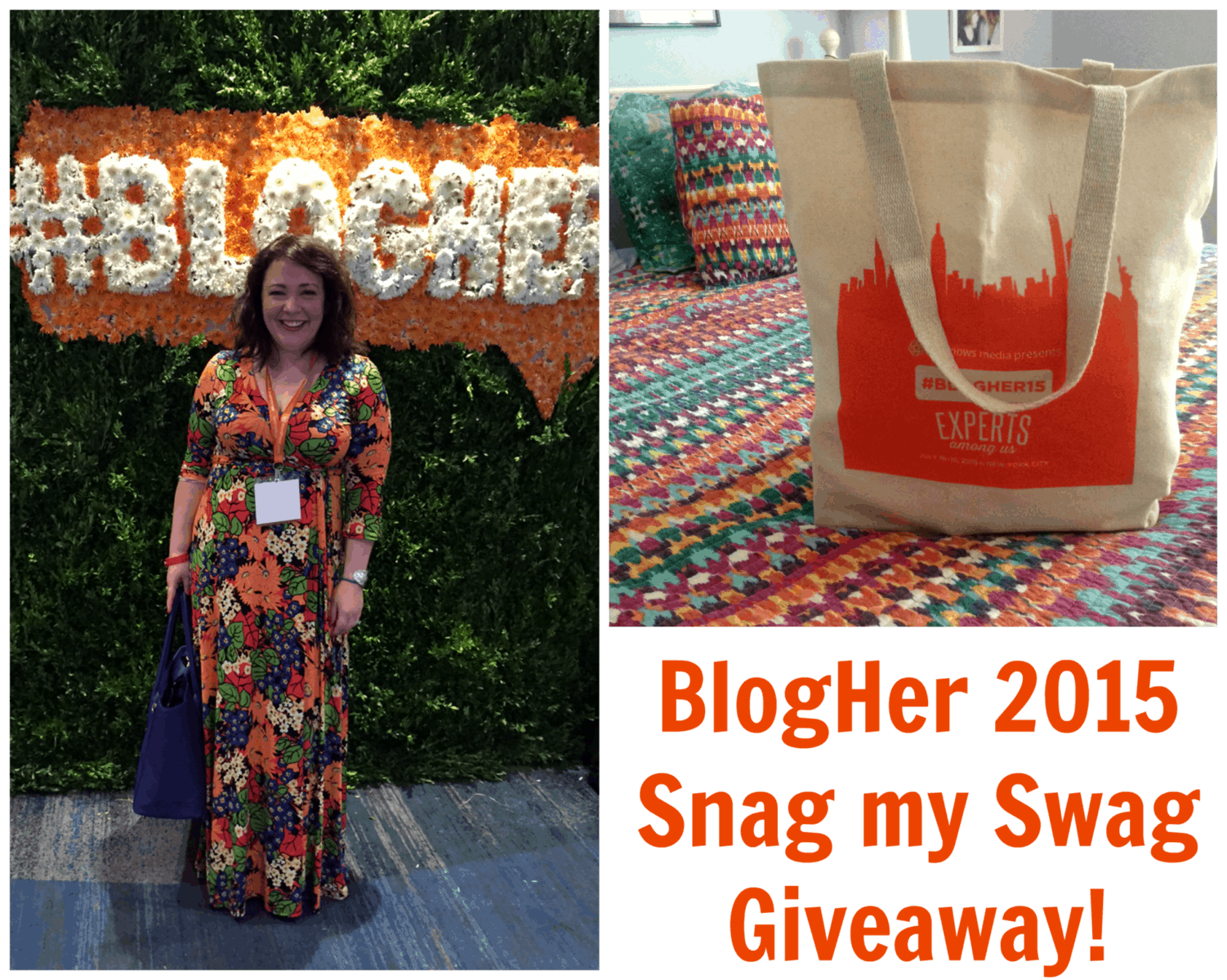 blogher2015 swag giveaway wardrobe oxygen