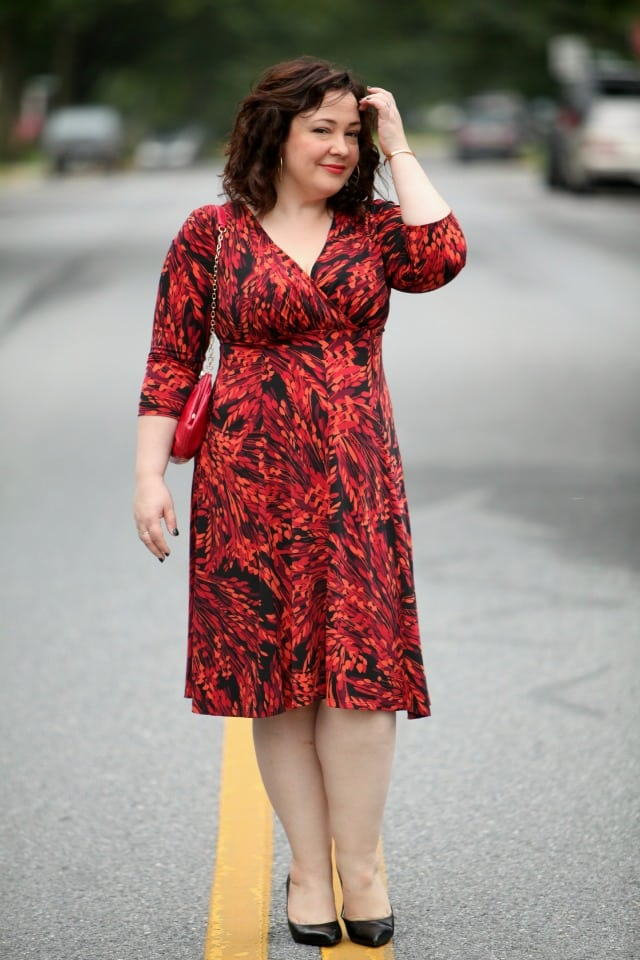 Gwynnie Bee Review London Times Fit and Flare Dress