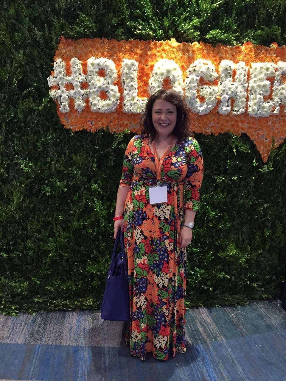 Alison Gary of Wardrobe Oxygen at BlogHer 2015