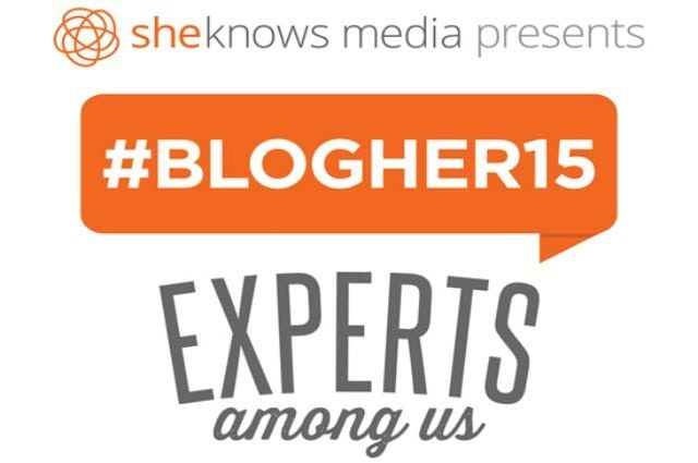 sheknows blogher 2015 experts among us conference