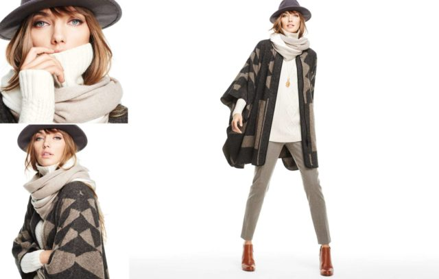 Talbots Fall 2015 Look Book Preview Featuring Ruana