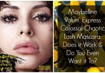 Wicked Beauty: Maybelline Colossal Chaotic Lash! Mascara Review