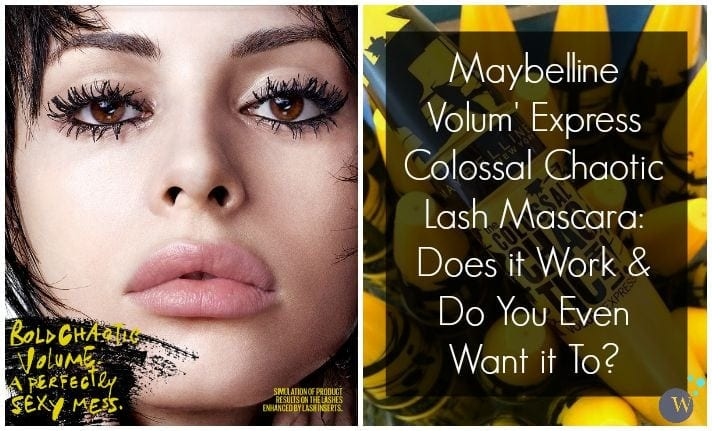 Maybelline Colossal Chaotic Mascara Review
