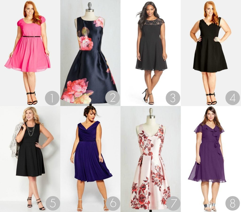 Shirts online plus size semi formal dresses under 100 from
