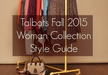 Talbots Fall 2015 Plus Size Collection and Style Guide