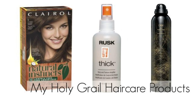 Wardrobe Oxygen Holy Grail Haircare Beauty Products