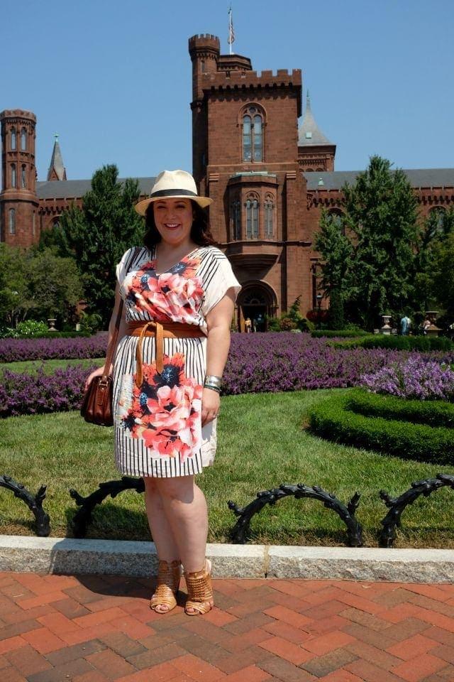 Wardrobe Oxygen, DC based fashion blogger featuring a dress from Gwynnie Bee