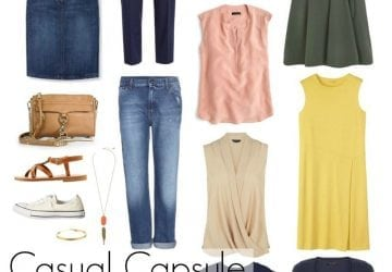 Ask Allie: Casual Capsule Wardrobe for Post-college Orientation