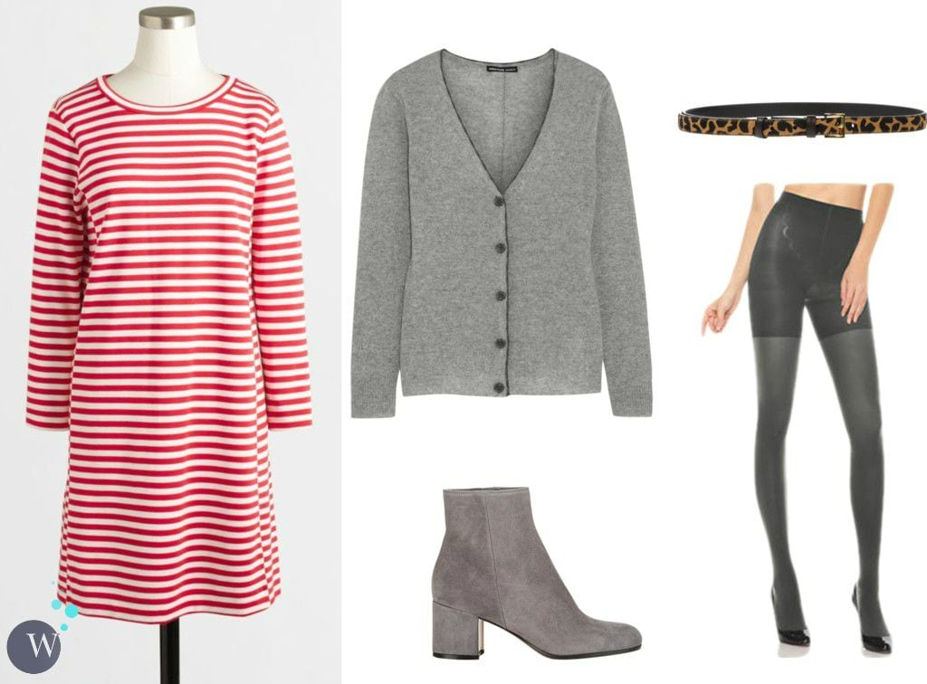 how to style a summer dress for fall and winter