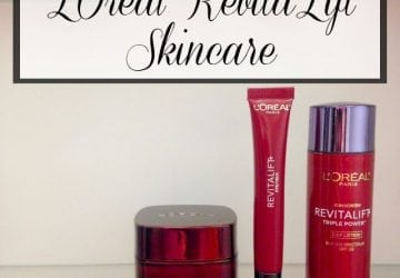 L'Oreal RevitaLift Review & Giveaway [Sponsored]