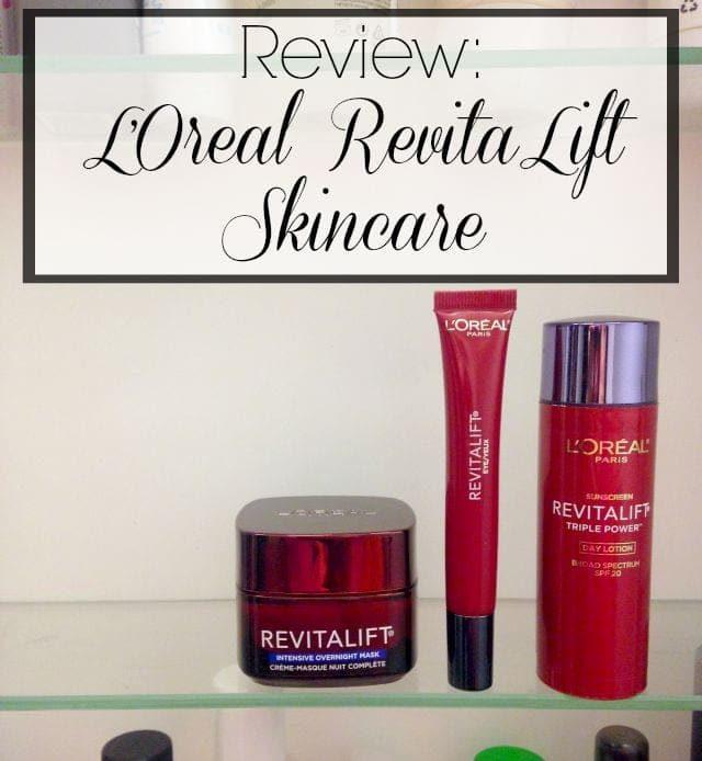 loreal revitalift skincare review